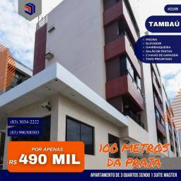 Apartamento para Venda em João Pessoa, Tambaú, 3 dormitórios, 1 suíte, 2 banheiros, 2 vaga