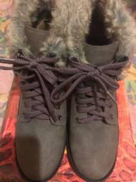 Vendo bota e jaquetas