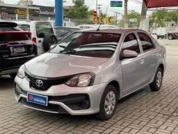 Título do anúncio: Etios Sedan 1.5AT com GNV 5G 2020- Todas as Revisões na Toyota
