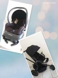Carrinho de bebê quinny mood + bebê conforto maxi cosi