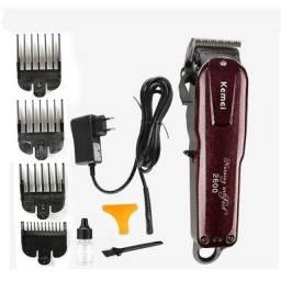 Kemei 2600 máquina de cortar cabelo nova sem uso profissional barbeiro
