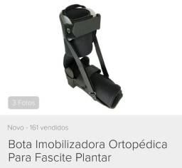 Bota ortopédica fascite plantar