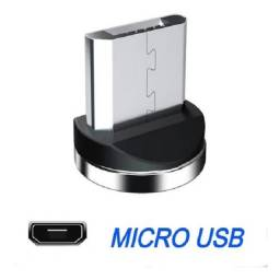 """Cabo Led Magnético Carregador """"Micro USB"""""""""""