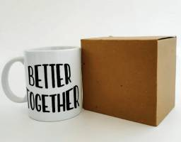 Caneca Personalizada - Better Together