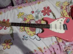 Guitarra Rosa Dolphin- 450