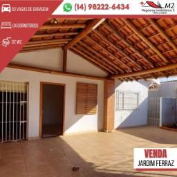 Título do anúncio: Casa para venda possui 200 metros quadrados com 4 quartos em Jardim Ferraz - Bauru - SP