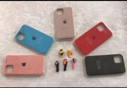 Capinhas de silicone Apple 30 reais