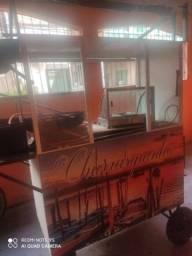 Vendo carrinho de churrasquinho(aceito propostas)