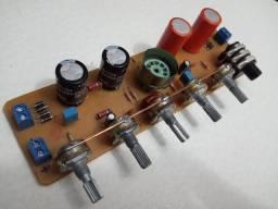 Pre Amplificador Valvulado Placa Montada