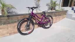 Título do anúncio: Bicicleta Feminina Aro 26 Completa