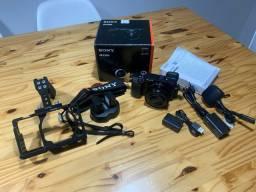 Câmera Sony A6300 com acessórios!
