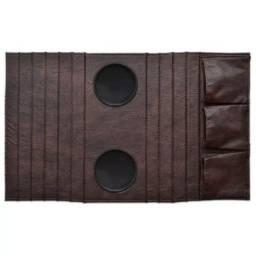 Porta Copo courino com porta controle*Novo embalado*