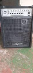 Caixa de som amplificada MP 2000