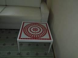Título do anúncio: Mesa vermelha em mosaico