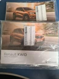 Manual Renault Kwid e logan original. Valor unitário
