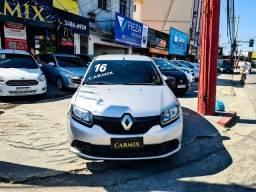 Renault Sandero Authentique 2016!! unico dono financiamento sem entrada