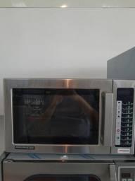 Forno microondas comercial em inox Menumaster * cesar