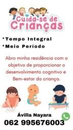 Título do anúncio: Cuida-se de criança!