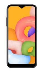 Smartphone Samsung Galaxy A01 Preto 32GB (lacrado na caixa)