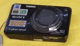 """Título do anúncio: Câmera Sony Cyber-shot  12.1 Mp  - LCD 3"""" - Zoom Óptico 5x"""