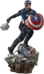 Captain America deluxe iron Studios