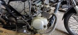 Título do anúncio: Motor a base de troca Yamara YBR factor 125cc com nota fiscal e garantia