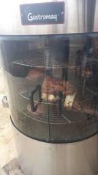 Maquina para assar carne