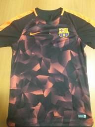 Camisa oficial de treino do Barcelona