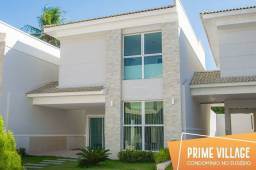Casa a venda em Condomínio no Eusébio de 3 quartos