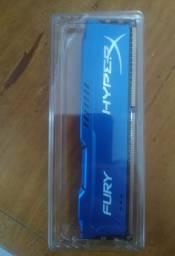 Memória ram 4GB Ddr3 1600Mhz HyperX