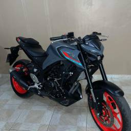Título do anúncio: mt 03 zero 840 km troco por moto menor