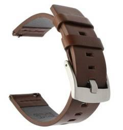 Título do anúncio: Pulseira 22mm Couro Premium Flexível Resistente e macio para Relógios