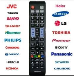 Título do anúncio: CONTROLE PARA TV UNIVERSAL Novo