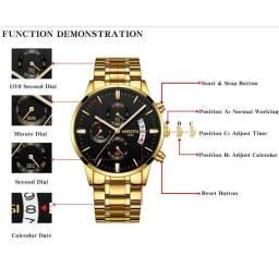 Relógio original luxo importado!