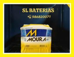 Bateria Moura 50Ah Onyx, HB20, Prisma...