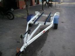 Carretinha para Jet ski de três lugares