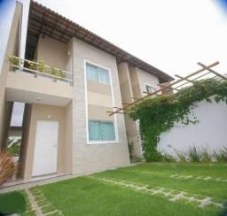Casa nova em Condomínio Eusébio-103m²-3 Quartos-2 Vagas-Lazer Completo-Financia