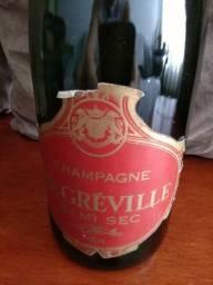 Champagne De Gréville Demi Lacrado 750 Ml Raridade Coleção