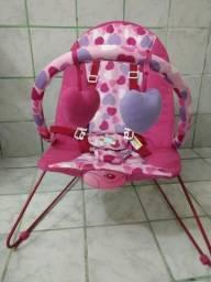Cadeira de descanço baby style lite corações