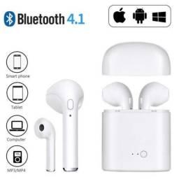Fone De Ouvido Bluetooth Sem Fio I7s Tws Plus Celular Phone