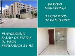 Apartamento na Maraponga Com 03 Quartos, á 50 Metros da Av. Godofredo Maciel, Paulo Vieira