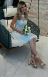 Vestido casamento civil