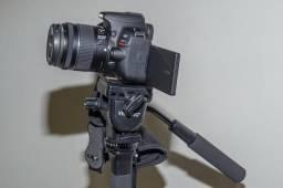 Camera cânon nova dslr eos sl2