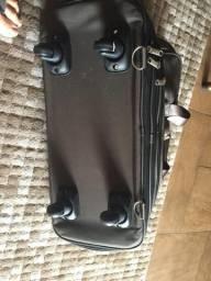 Bolsa de viagem com fecho para aumentar sua altura
