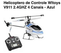 Aeromodelos - helicóptero