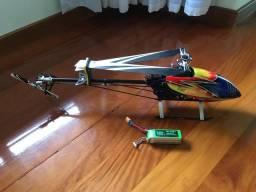 Vendo ou troco helicóptero trex 500 pro