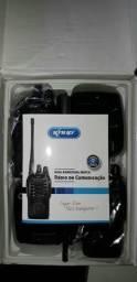 Rádio de comunicação novo na caixa