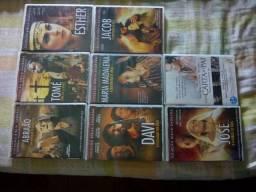 Filmes bíblicos cada R$ 05,00