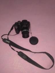 Câmera semi profissional FujiFilm completa