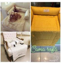 Cama sofá para cães e gatos